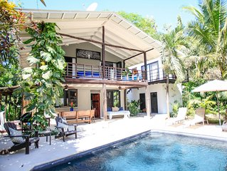 Beautiful Private Home W/ Pool, 5 Min Walk To Beach & World Class Surf Break!