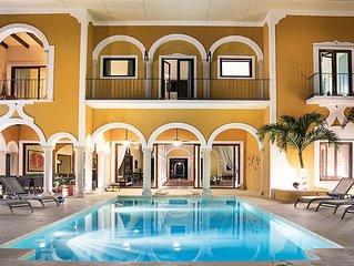 Riviera Maya Haciendas - Hacienda Magica, 5-14 Beds on the Beach, Fully Staffed