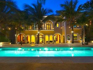 Riviera Maya Haciendas, Hacienda Corazon 4-10 Beds on the Beach, Fully Staffed