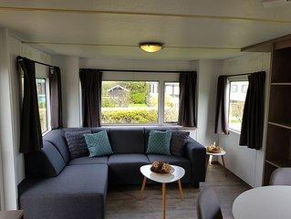 Mobilheim 168 im 5-Sterne Park Roompot Beach Resort - Kostenlose WIFI / WLAN