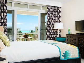 Ocean View Deluxe Suite up to 60% off Resort Rates on Grace Bay