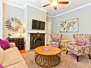 Newly Renovated and Furnished Historic Savannah Apartment Across from Forsyth P