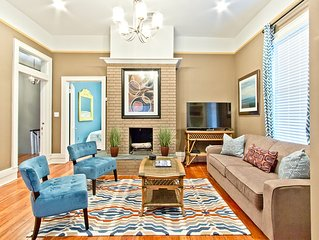 Newly Renovated 2 Bedroom Historic Savannah Apartment Located On Forsyth Park