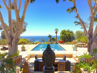 Exotic Six-Acre Ocean View Malibu Estate!