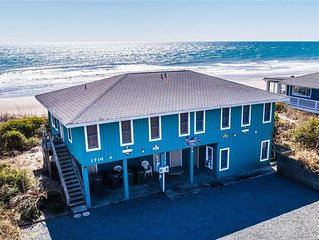 FINS: 2 BR / 2 BA oceanfront in Surf City, Sleeps 6