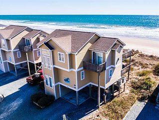 3 N'XT 2 'C': 5 BR / 4.5 BA oceanfront in Surf City, Sleeps 12