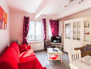 Bel appartement 200m plage du Touquet et rue St Jean avec garage - wifi