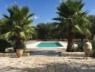 Beautiful villa set in a tranquil olive grove, with a stunning 15 x 5m pool