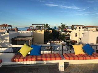 Villages at Loreto Bay Walk to Ocean Golf Pool Wine Bar Cafes Spas