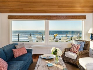 Exceptional Oceanfront House near Cannon Beach, Gorgeous decor, amazing view!