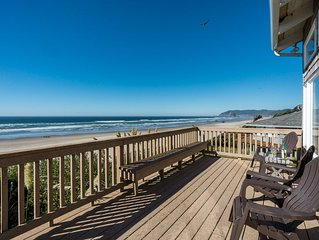 Oceanfront, Spacious Deck, Haystack Views, 2 King Beds! A+ Location!