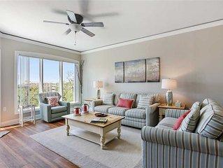 5th floor completely updated ocean front villa in Palmetto Dunes!