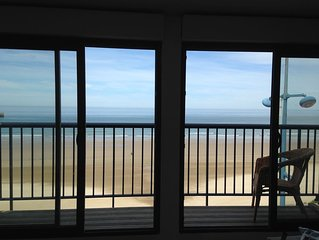 Duplex, beachfront 2 bedrooms, 4/5 Pers, Wifi