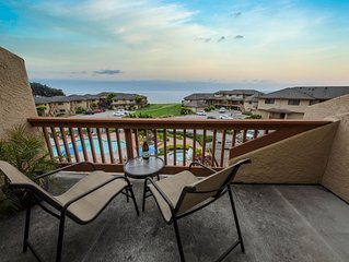 Wake up to the sight and sound of the ocean!