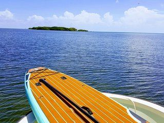Rent Your Own Private Island with boat...Seabird Key, Marathon, Florida USA