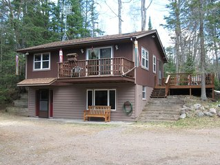 High Lake Cabin - Boulder Junction, WI - $169.00/nt/4 Guests