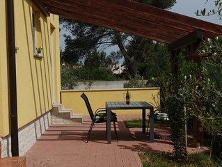 Ruhiges Urlaubshaus  mit Terrassen, Garten, Meeresblick