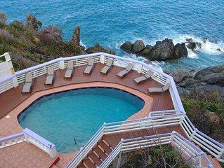 Serene cliffside property