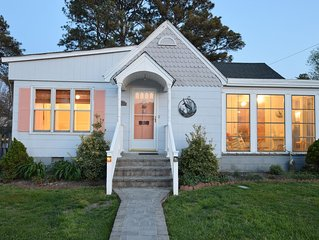 Sweet Retreat:  Delightful Chincoteague Cottage-Pets Considered