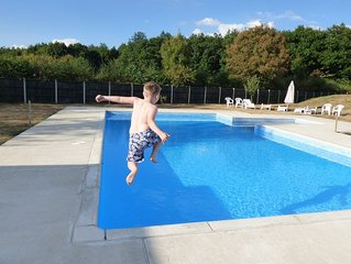Family Friendly Gites with pool, playground and much more