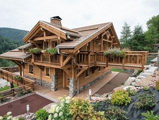 La Nolière, chalet très grand standing 10 personnes, La Bresse, Vosges