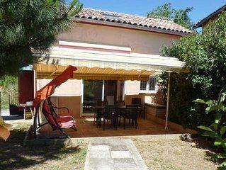 Gîte 4 pers, avec piscine au soleil du sud-ouest