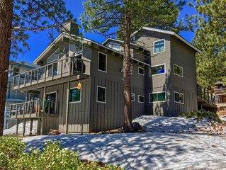Lake Tahoe Views! | Gorgeous 3 Level home! Hot Tub, Pool Table, Heated Driveway!