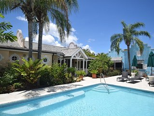 Luxury West Coast villa, 5 mins walk to beach, with Beach Club membership