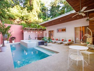 'Casa Bliss, a new modern home, close to surf and yoga.'
