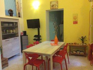 Accogliente, luminoso, spazioso appartamento nel cuore di Cagliari