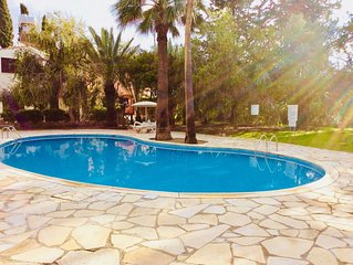 Large Detached Villa With Communal Swimming Pool & FREE WIFI