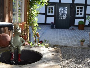 4-Sterne-Fachwerkhaus mit  wunderschönem Innenhof