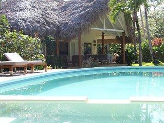 Beach Villa Caribbean Style - Playa Bonita - Las Terrenas