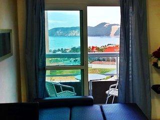 Oh Vida Boa Pontamares Flat 2 quartos, vista Morro do Careca, piscina Excelente
