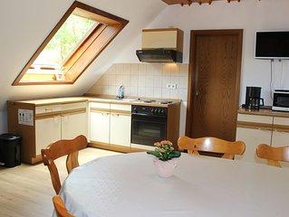 Ferienwohnung 6 mit 60 qm, 2 Schlafzimmern, für maximal 5 Personen