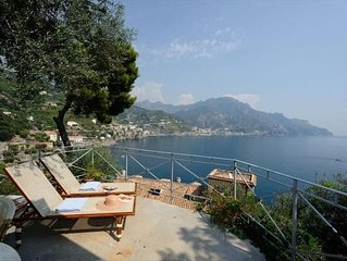 House Oliver with a Breathtaking Sea View on the Amalfi Coast