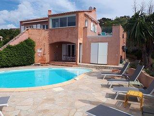 Villa vue mer avec piscine privative