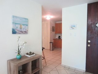 Beautiful, Quiet, Luxury Condo less than 5 minutes from the beach! New Listing!