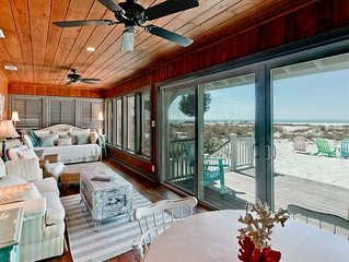 Wave Crest: 3BR Beachfront Cottage...It's All About Location!