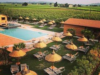 AGRITURISMO TRERE' : tra le Vigne di Sangiovese con Piscina e Spa