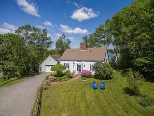 Waterfront on Orr's Island.  3 bd/2ba  Private setting with float/dock.