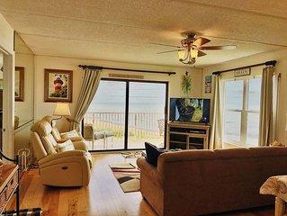 Beachy Ormond 4th Floor Oceanfront 2/2 Condo Sleeps 6 Smart 48' TV  NETFLIX