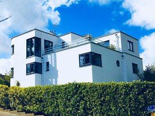 Large, Stylish, Family House in Fowey, Cornwall. Sea Views near Beach.