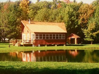 Grey's Getaway Cabin Finger Lake region ,stunning fall foliage!  Dog friendly,