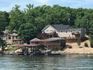 Fantastic Home on Point in Cove with Quiet Water with Huge Private Dock