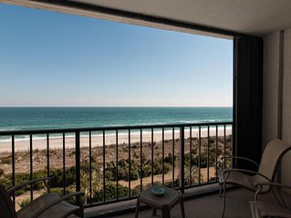 Comfortable oceanfront condo on the south end of the island