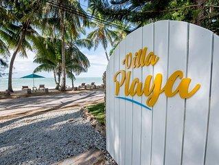 BEACHFRONT LUXURY VILLA, Your own private resort.
