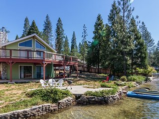 LAKE FRONT APARTMENT & COTTAGE with BOAT DOCK