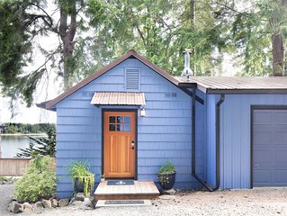 Beach Side Studio Cottage, Olympia, Great Views,