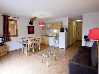 Residence Orelle 3 Vallees*** by Resid&co - 2 Pieces 3 Personnes